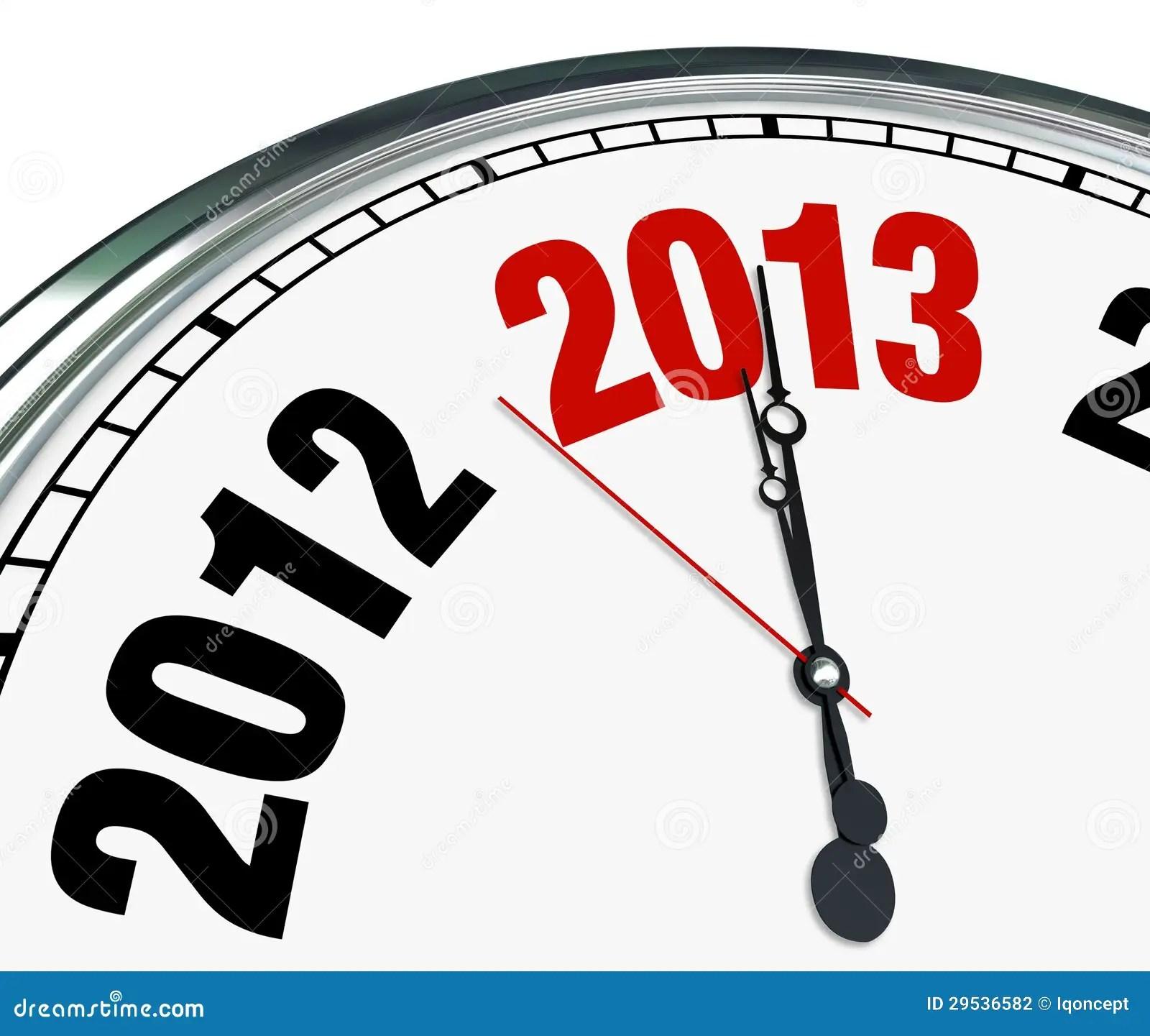 2013 Year End Clip Art