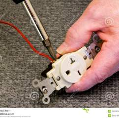 220 Volt Plug Wiring Diagram Best Strat Diagrams Outlet Royalty Free Stock Image 29228536