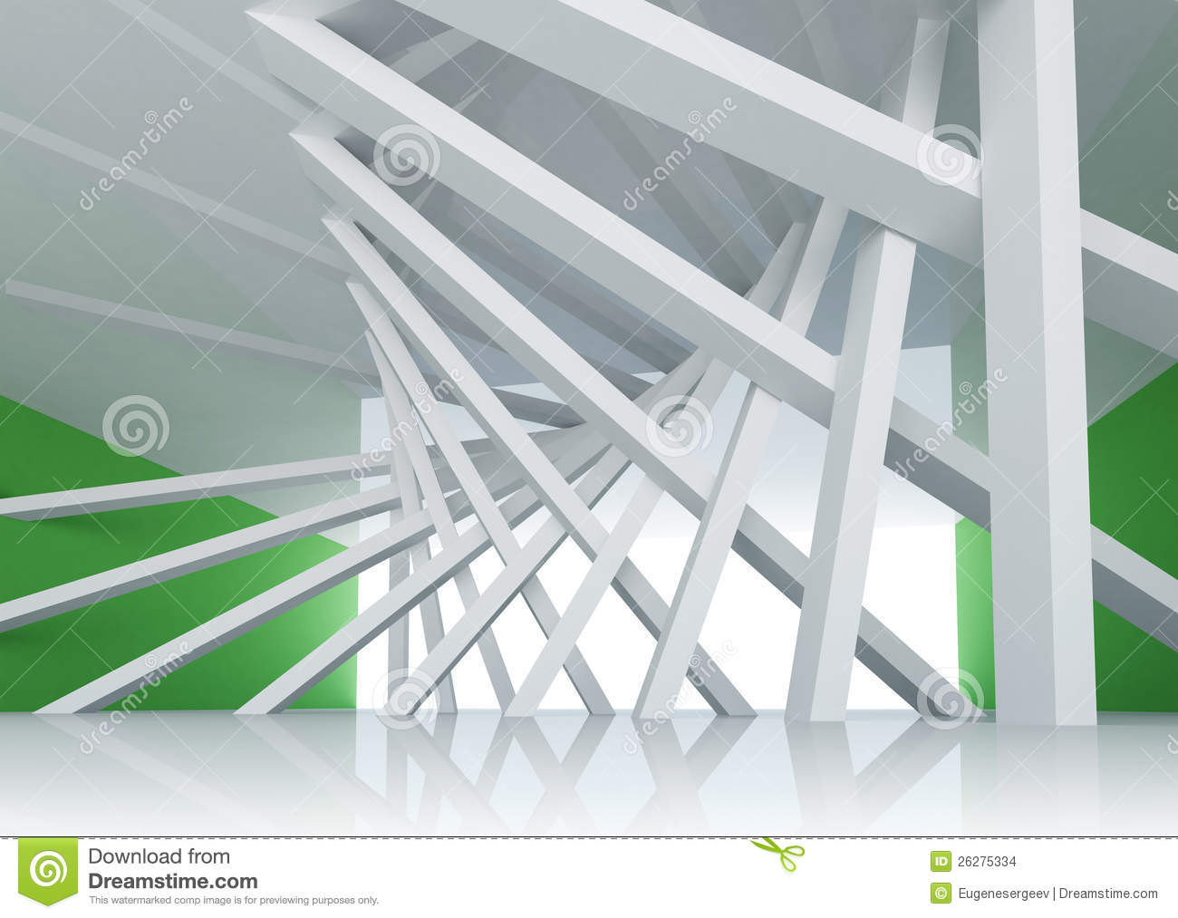 Abstrak Wallpaper Hd 3d Abstract Architecture Background Room Interior Stock