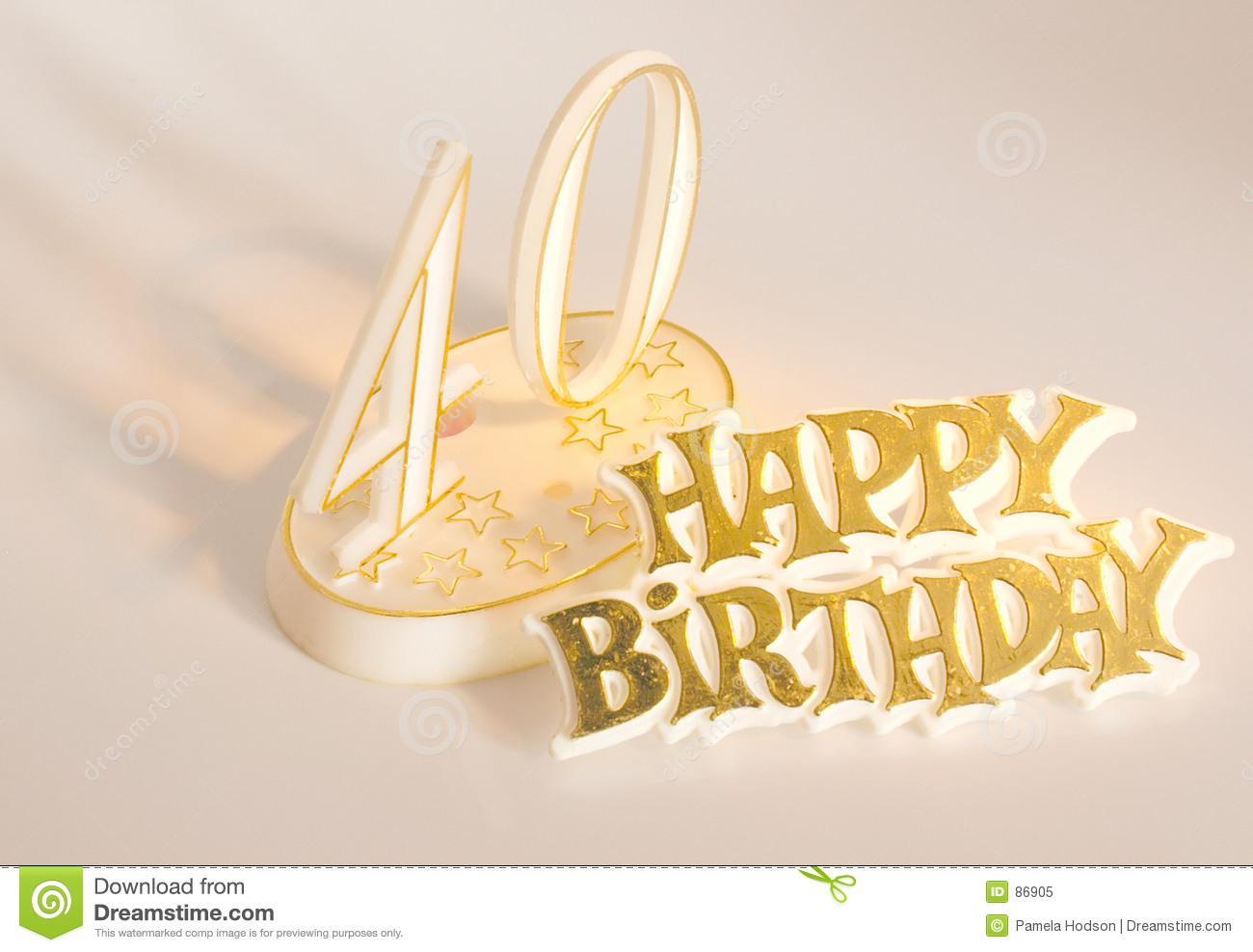 40th Birthday Royalty Free Stock Photo Image 86905