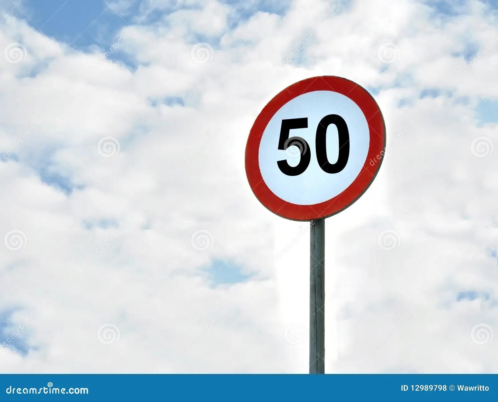 50 km h speed