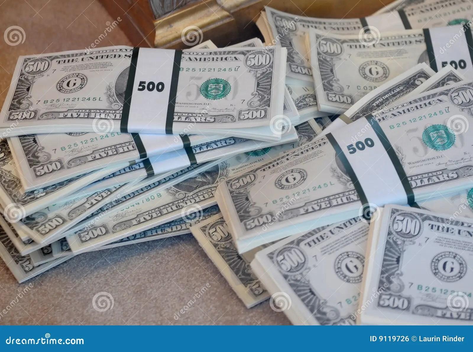 100 Stacks Bills Dollar 10