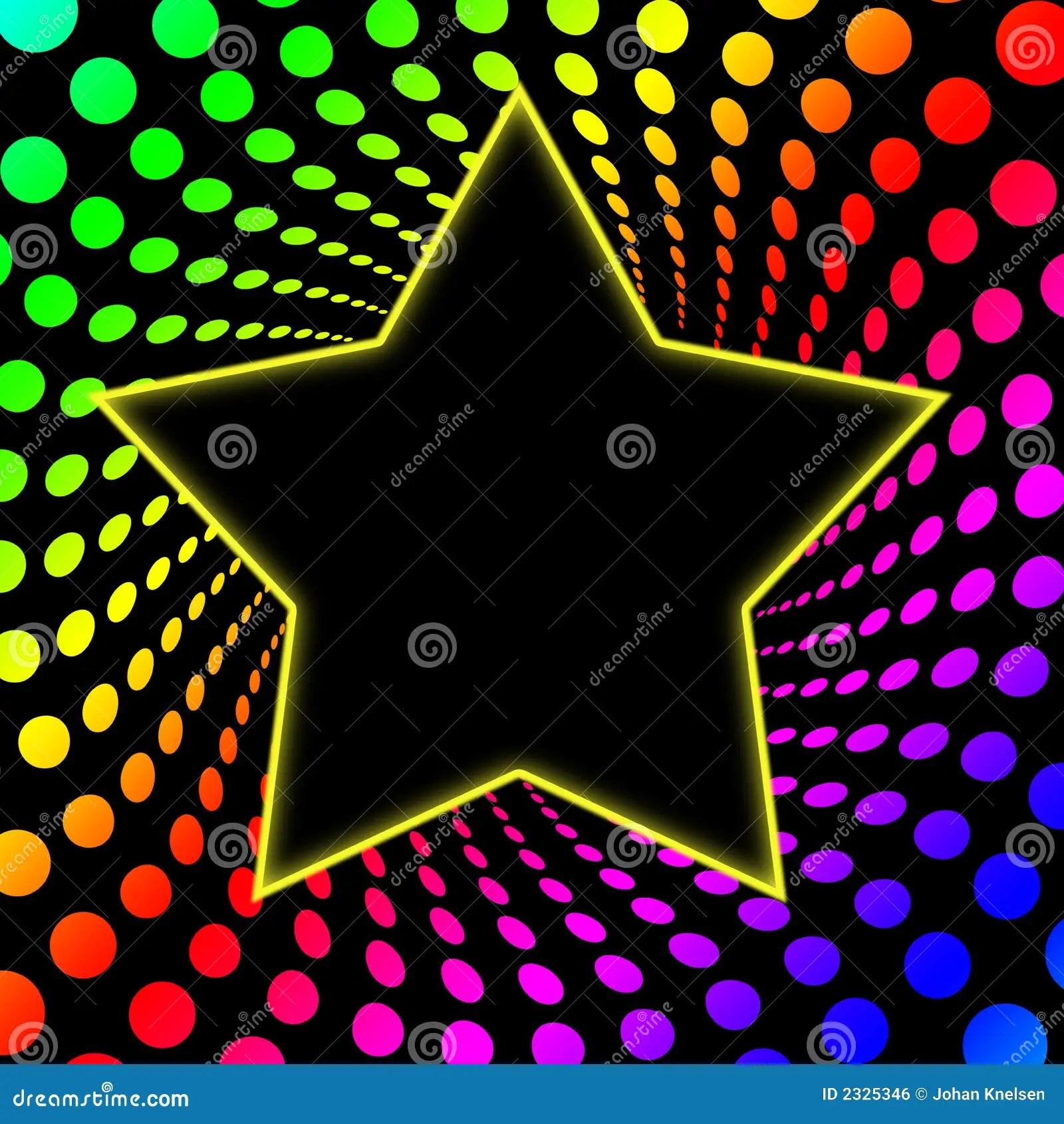 70s Superstar Rainbo Twirl Stock Illustration