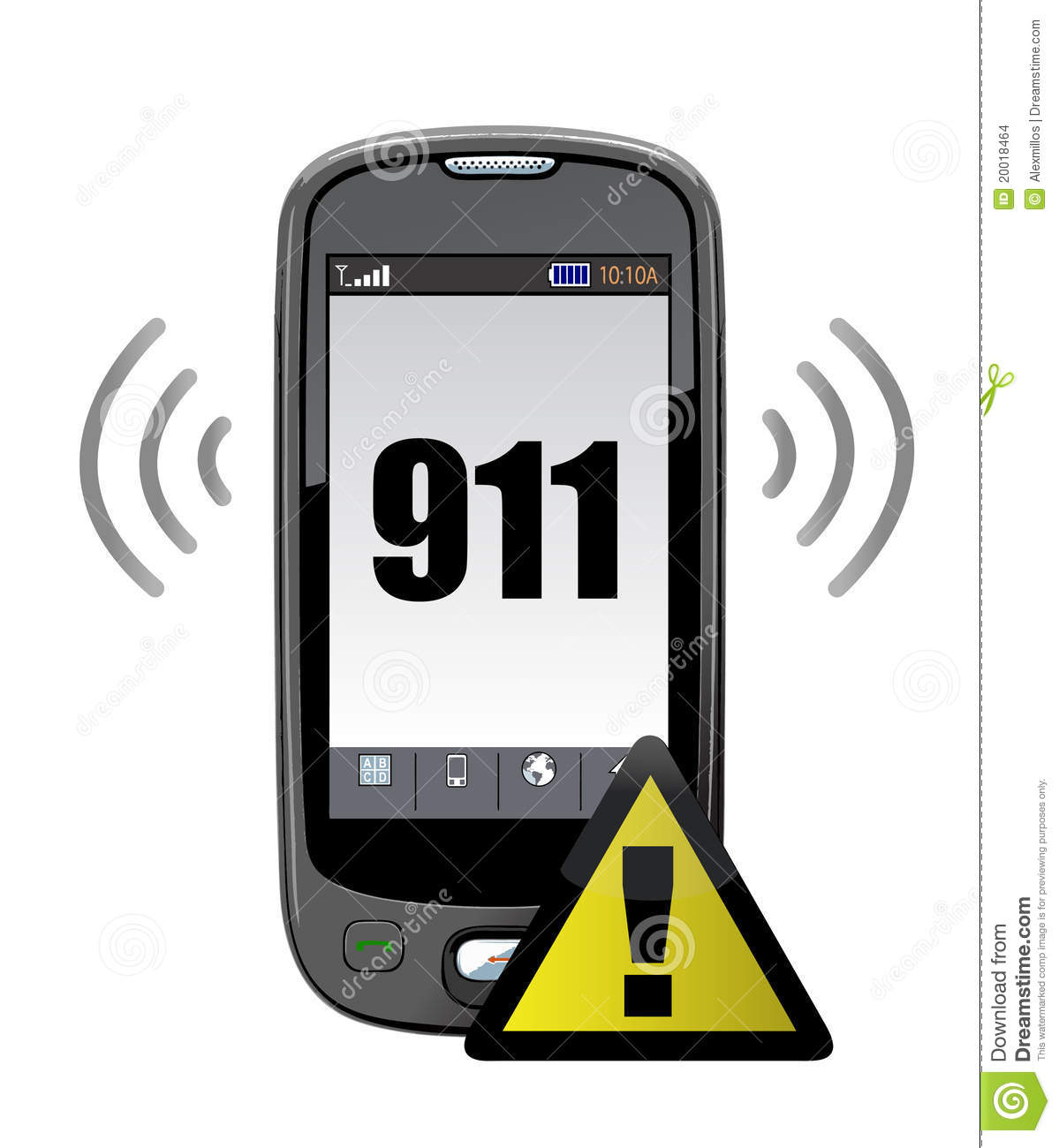 911 Emergency Call Stock Images