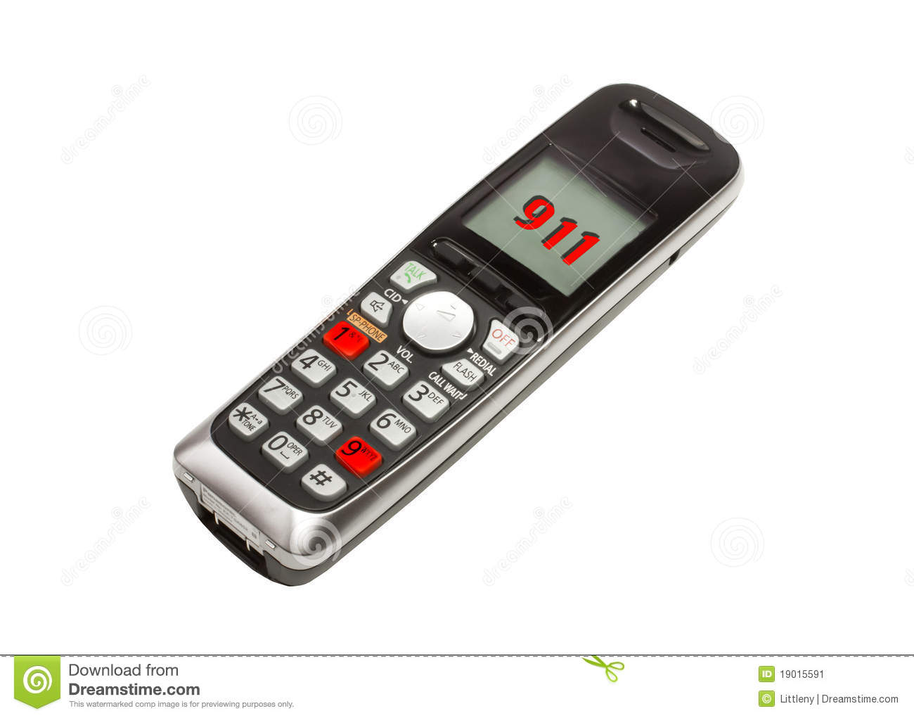 911 Phone Stock Image Image Of Emergency Patient Hurry