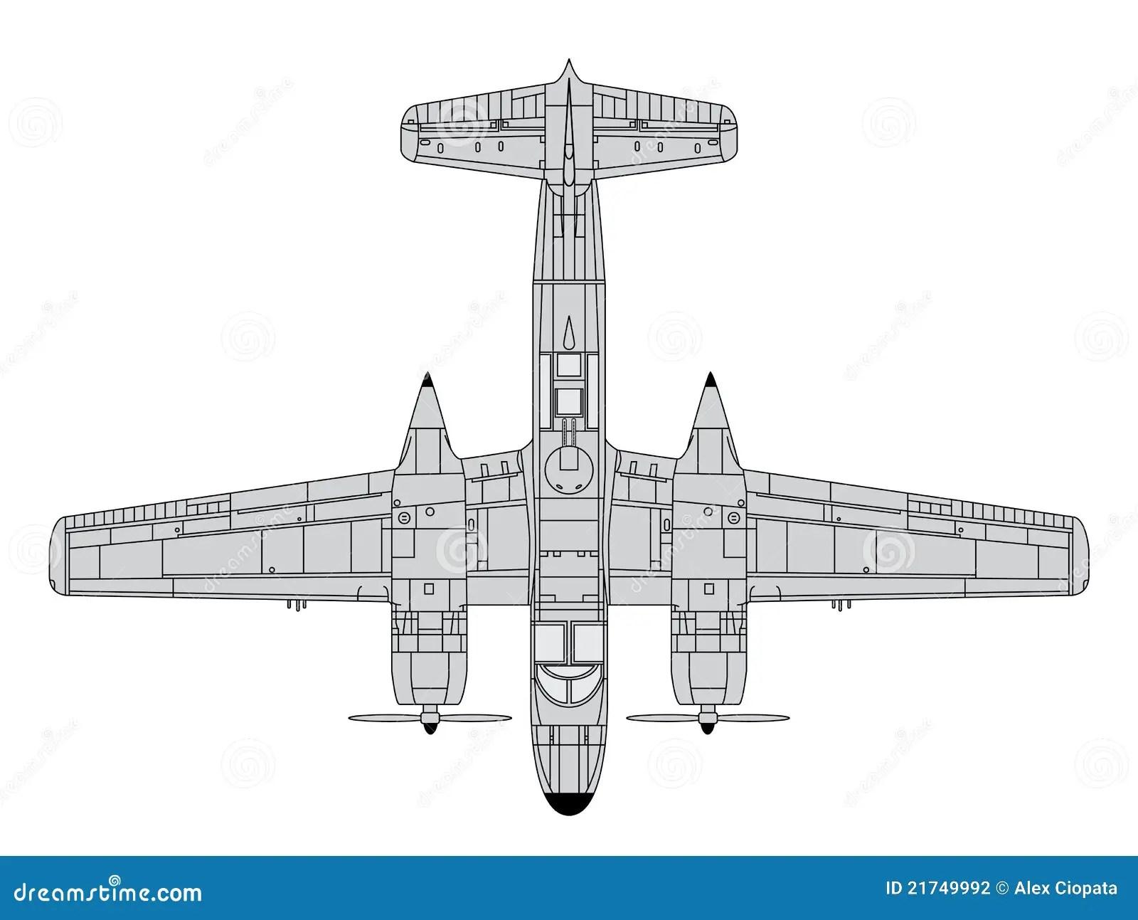 A26 Invader Stock Vector Illustration Of Invader Cargo