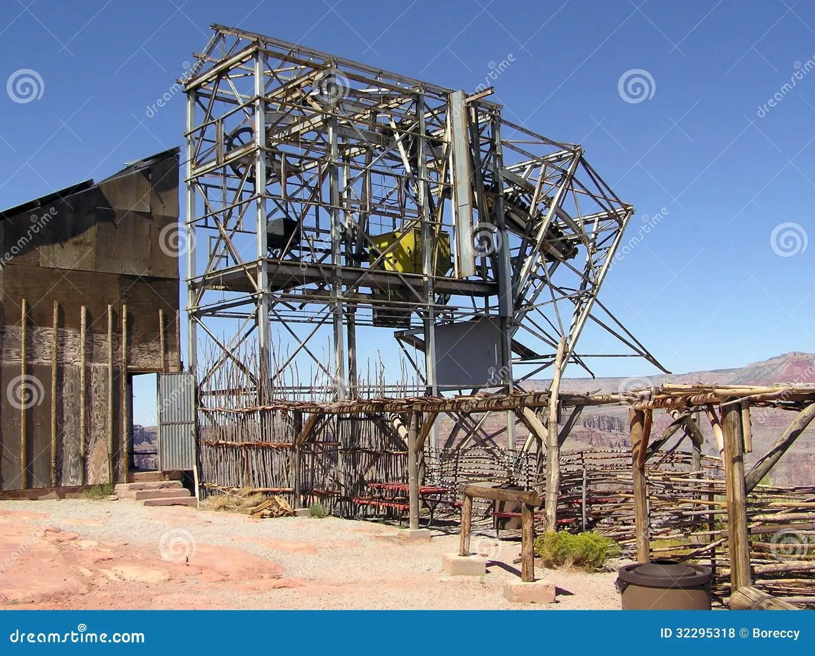 Abandoned Guano Mine Grand Canyon West Arizona Royalty