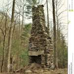 Rock Chimney Of Old Homestead Stock Image Image Of Fireplace Carolina 111808471