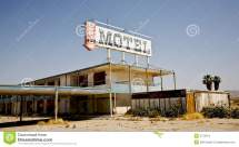 Abandoned Motel Salton Sea Ca Stock - Of