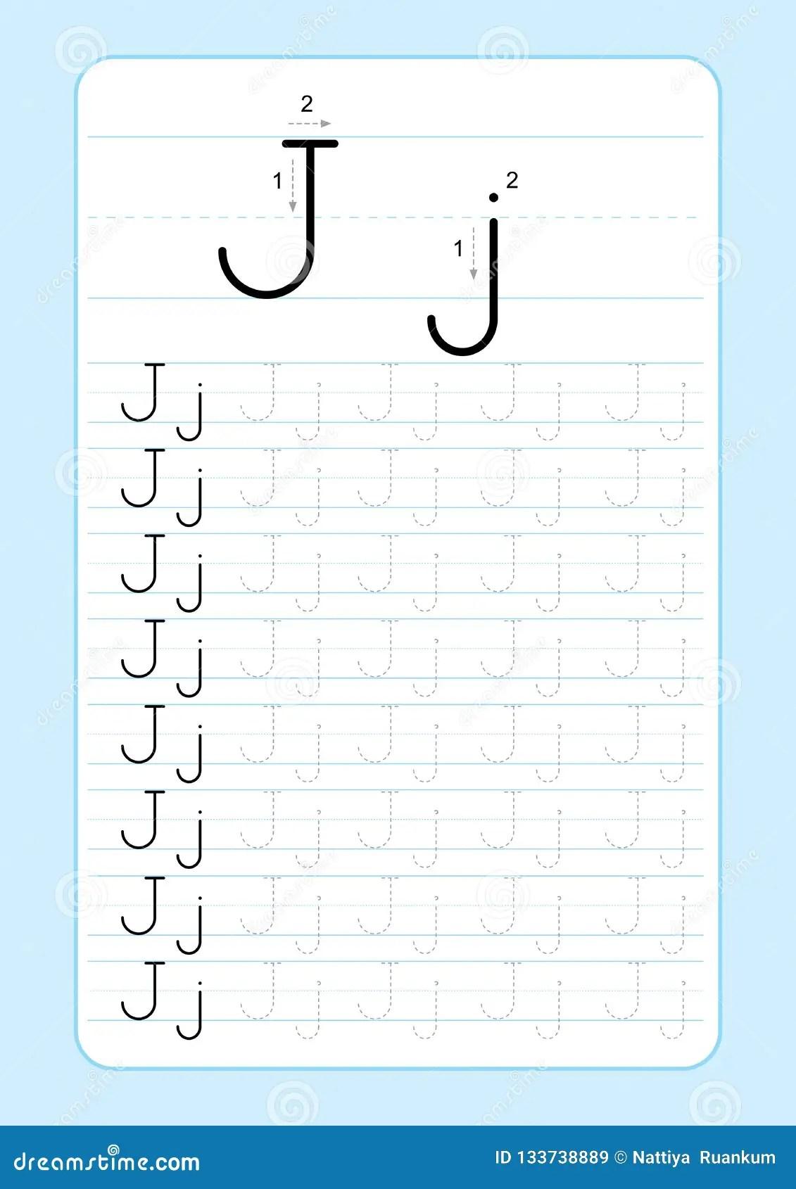 Abc Writing Worksheet For Kindergarten