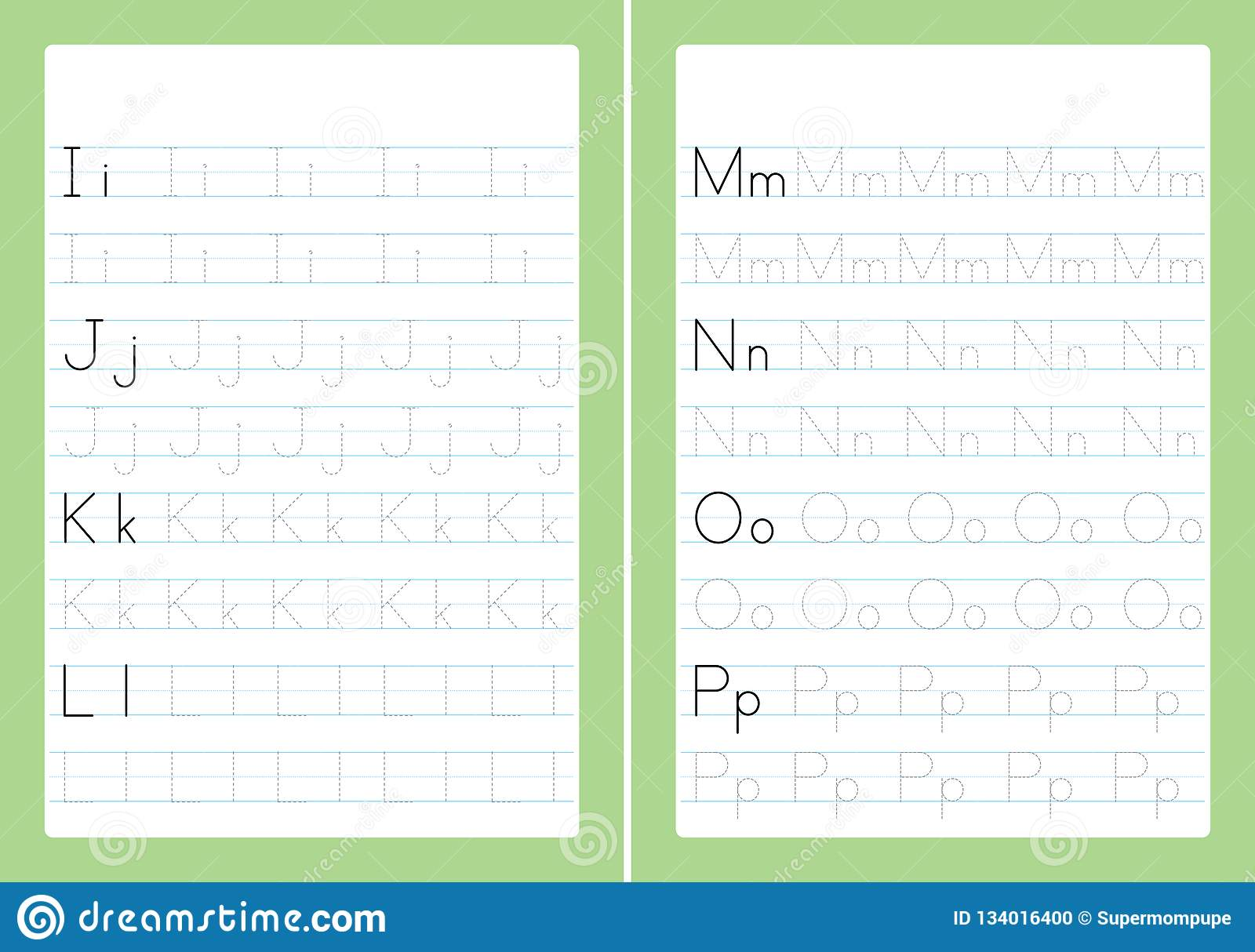 hight resolution of ABC Alphabet Letters Tracing Worksheet With Alphabet Letters. Basic Writing  Practice For Kindergarten Kids A4 Paper Ready To Print Stock Vector -  Illustration of basic