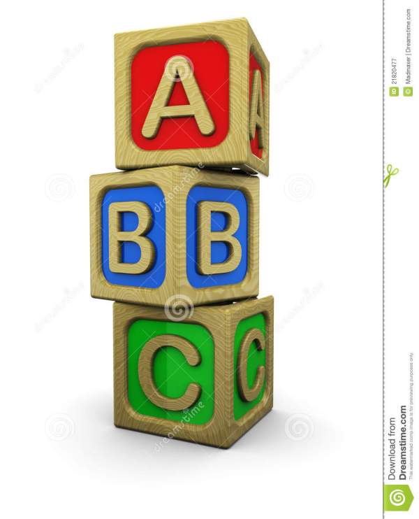 Abc Blocks Stock Illustration. Illustration Of Early