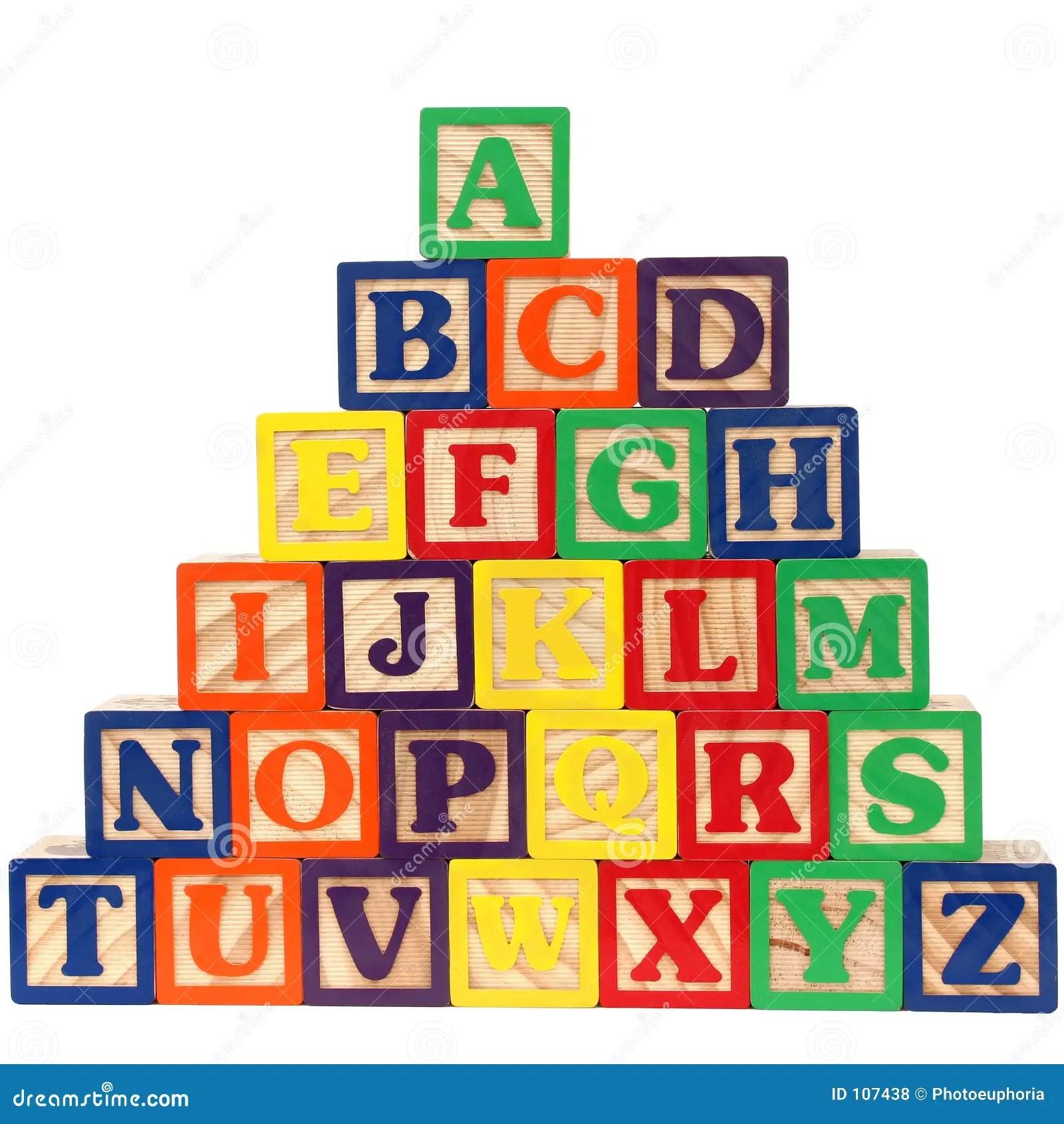 Abc Blocks A Z Stock Illustration Illustration Of Blocks