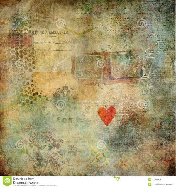 Abstract Altered Art Background 2 Stock Illustration