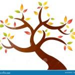 Abstract Autumn Tree Stock Vector Illustration Of Drawn 8150751