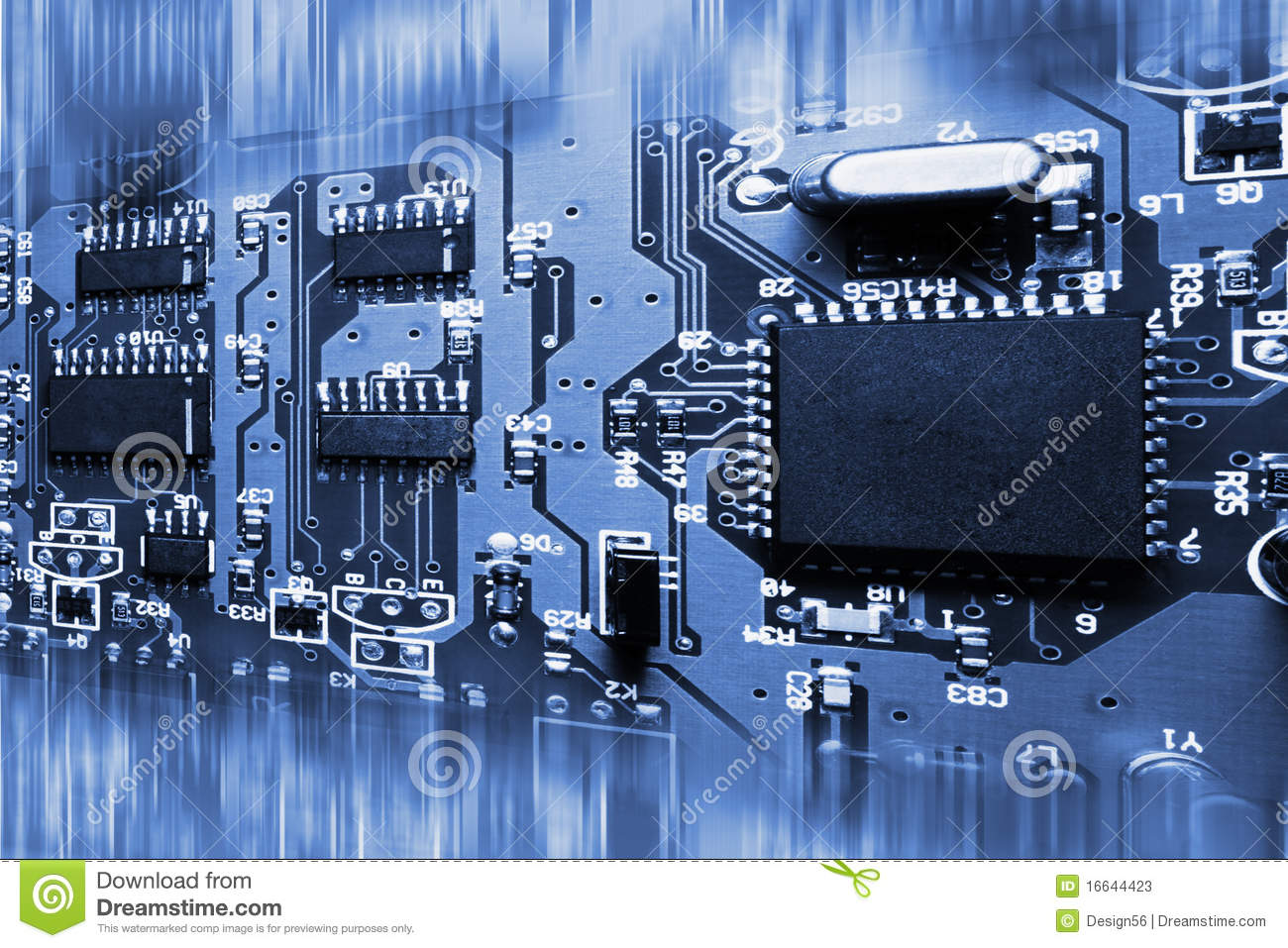 Electronic Circuit Board Stock Photography Image 20228122