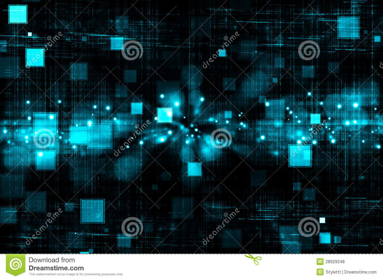 Hd Vector Wallpapers Free Download Abstract Blue Technology In Dark Background Stock