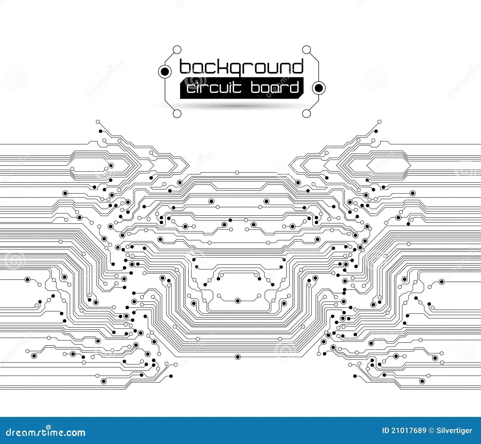 Circuit Board Graphic Design Seamless Background Graphic