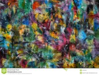 Abstract Color Painting stock illustration. Illustration ...