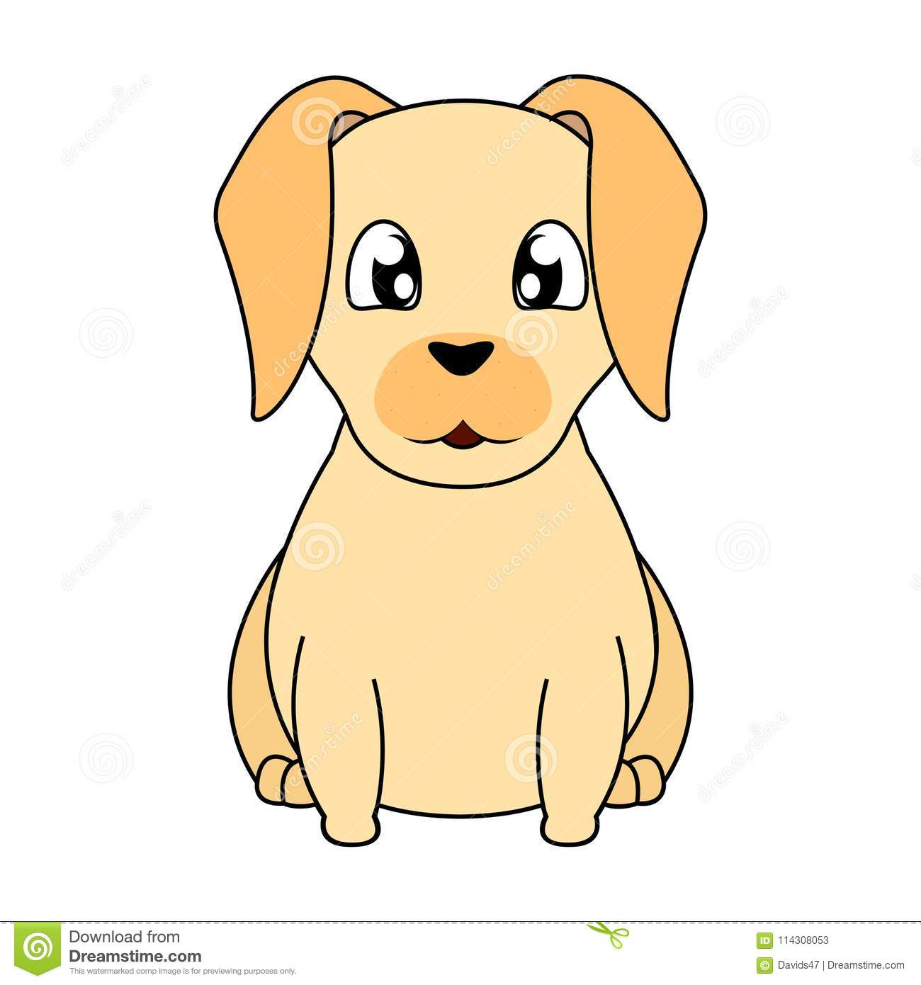hight resolution of abstract cute dog