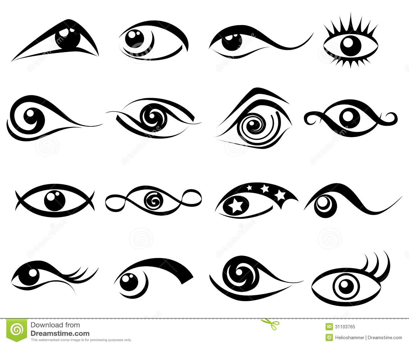 Abstract Eye Design