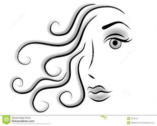 abstract woman face clip royalty beauty