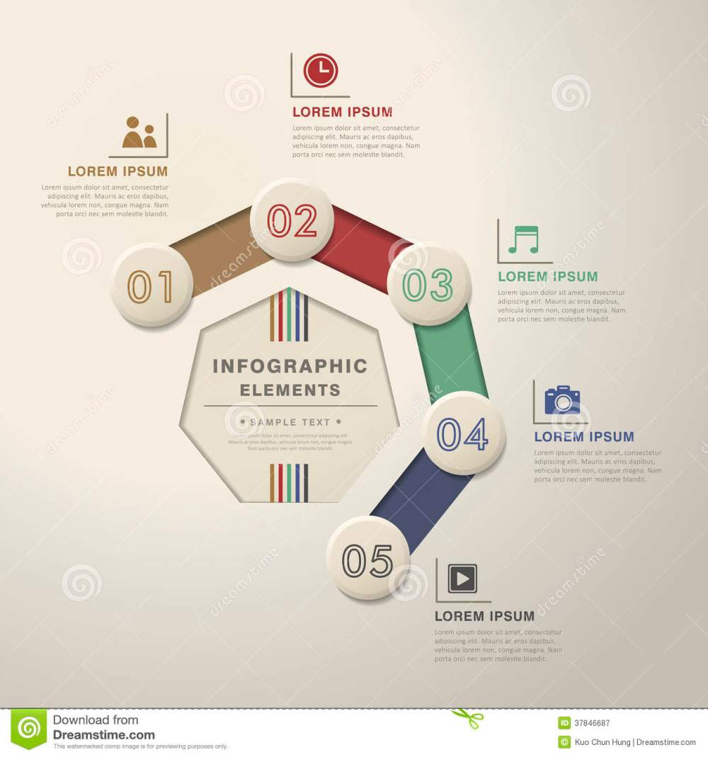 medium resolution of abstract flow chart infographics