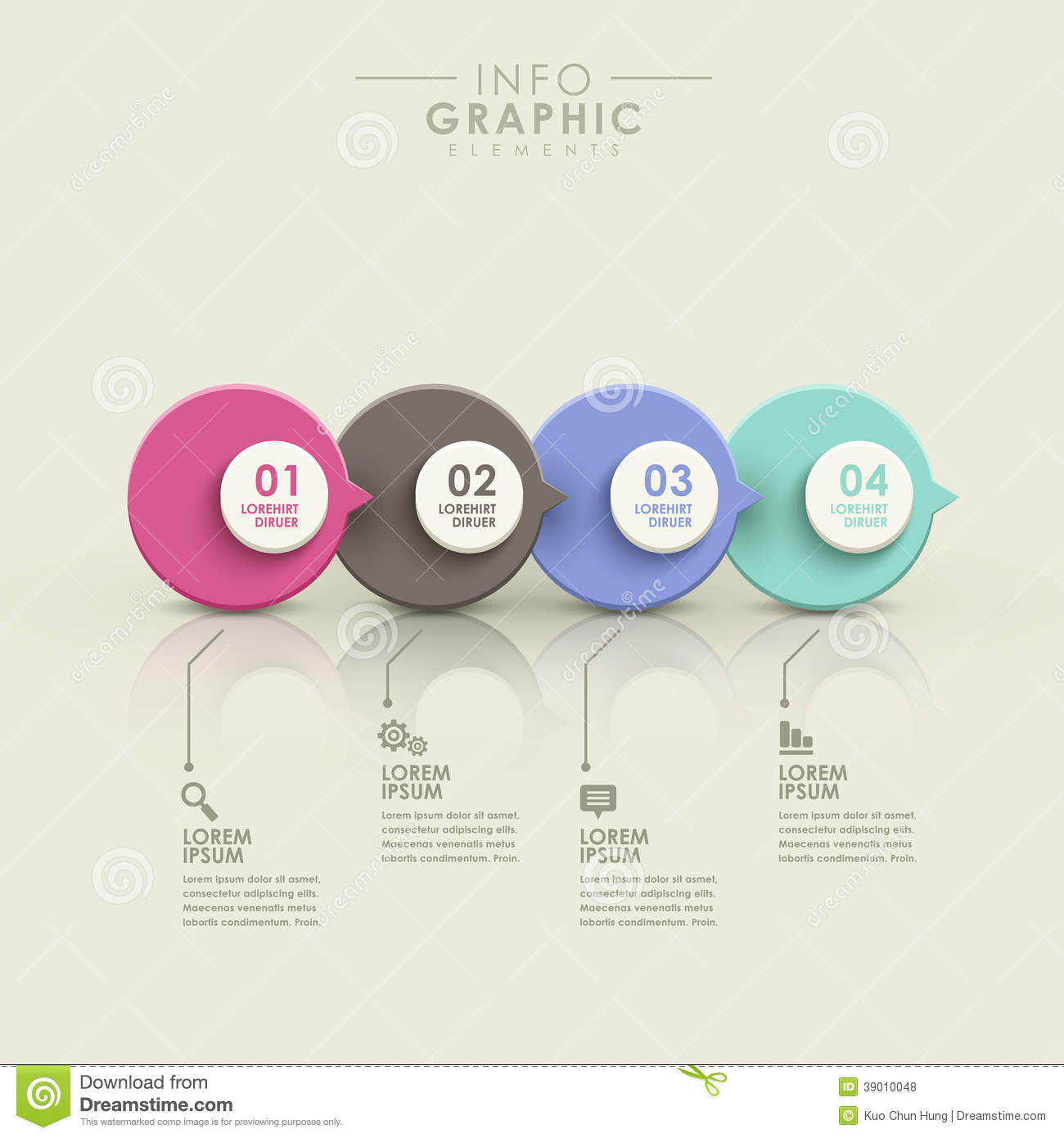 flow chart infographic template