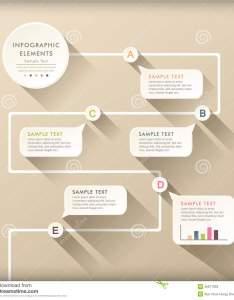 Vector abstract flat design flow chart infographic elements also infographics stock illustration of rh dreamstime
