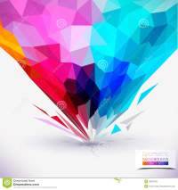 Abstract Geometric Colorful Composition. Stock Vector ...