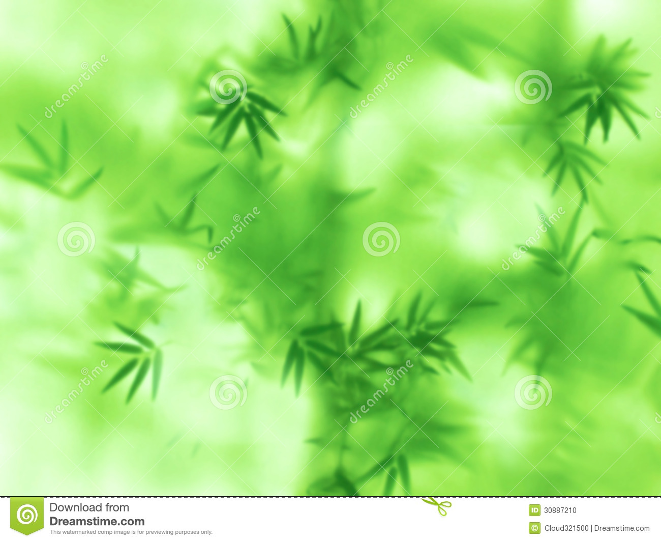 Abstract Green Natural Background Stock Photo  Image of