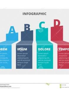 Modern simple infographic vector template can be used for workflow layout diagram number options step up web design also abstract chart stock illustration of rh dreamstime