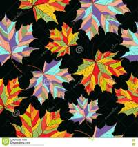 Abstract Leaves, Seamless Pattern, Vector Background ...