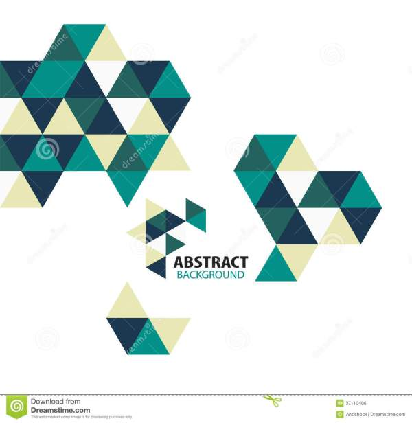 Vector Abstract Art Geometric Shapes