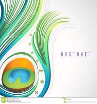 Abstract Peacock Feather Background. Stock Illustration ...