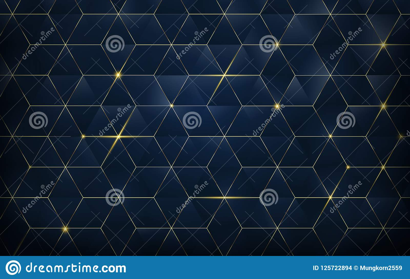 abstract polygonal pattern luxury
