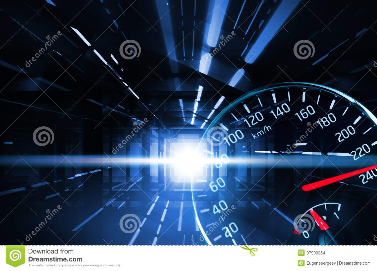Racing Car Live Wallpaper Android Abstract Racing Illustration With Speedometer Stock