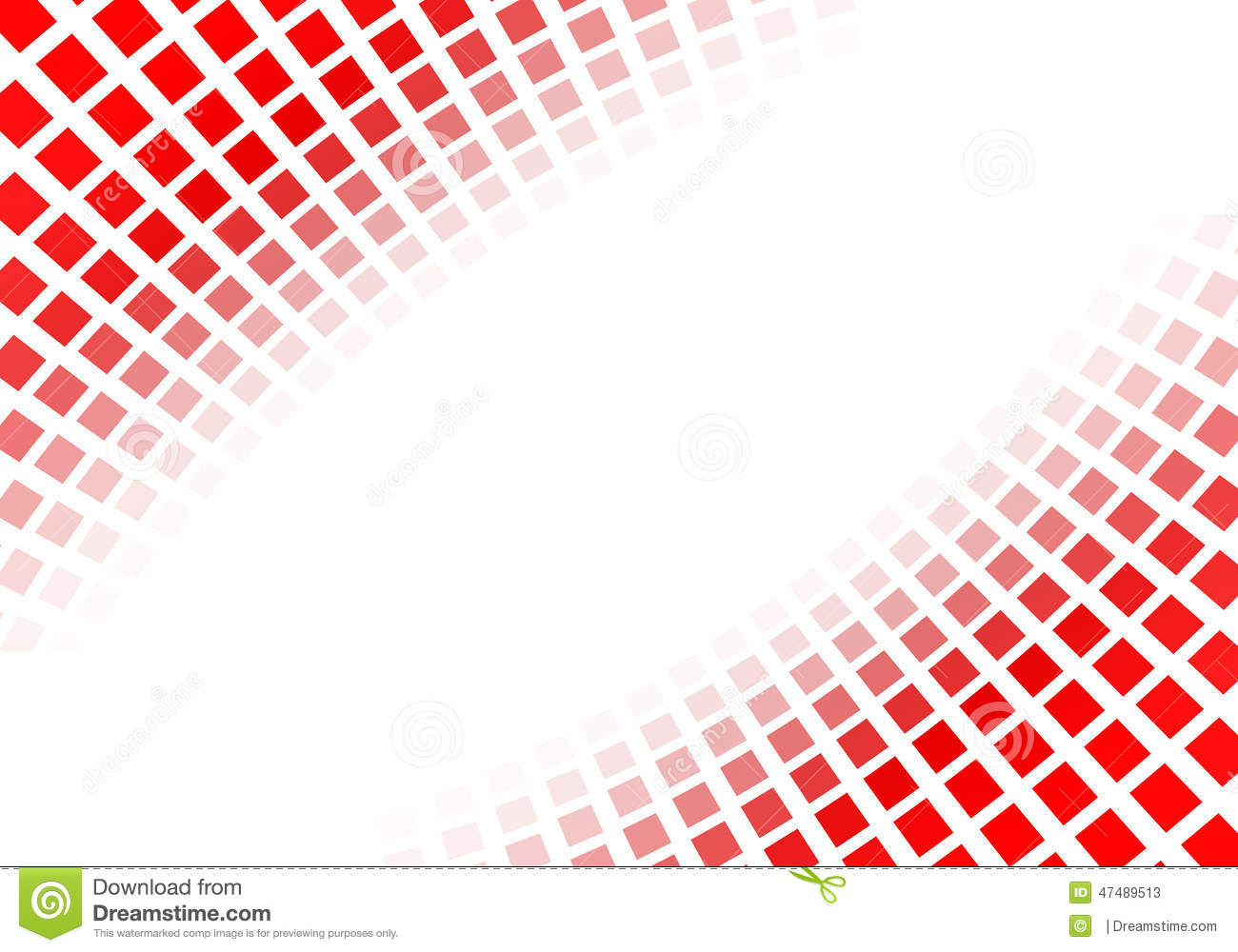 Abstract red squares stock illustration Illustration of