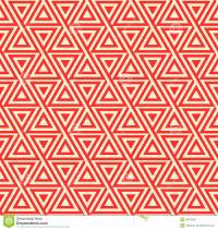 Abstract Seamless Geometric Pattern With Triangles Stock ...