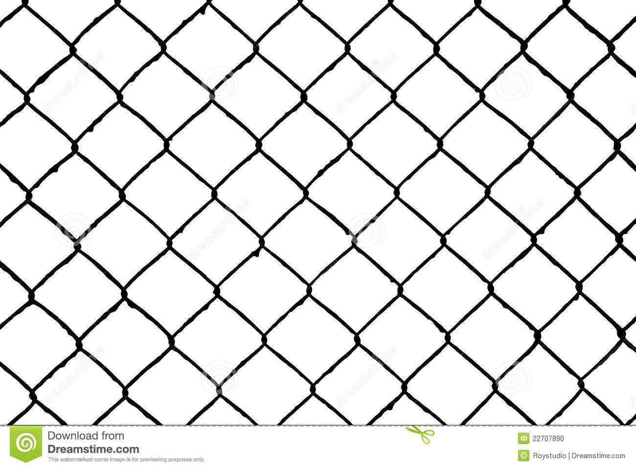 Abstract Seamless Pattern Wire Grill Stock Illustration