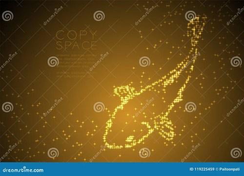 small resolution of abstract shiny star pattern carp or koi fish shape aquatic and marine life concept design