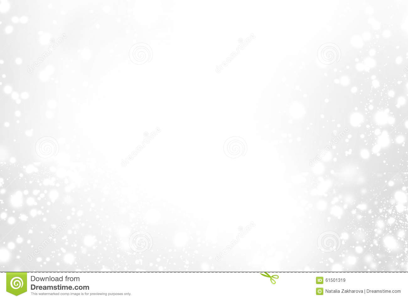 Abstract Sparkling Merry Christmas Card With White And
