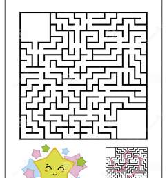 Product Square Maze Worksheets   Printable Worksheets and Activities for  Teachers [ 1689 x 1131 Pixel ]