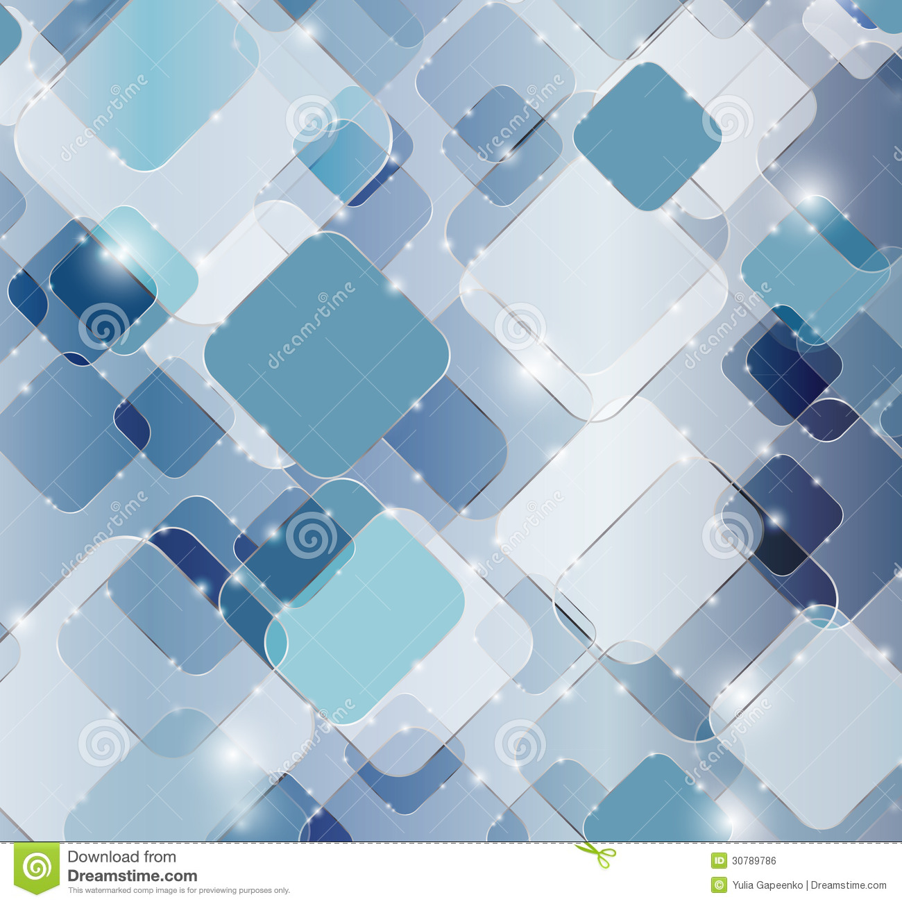 Abstract Technology Background Vector Illustration Stock