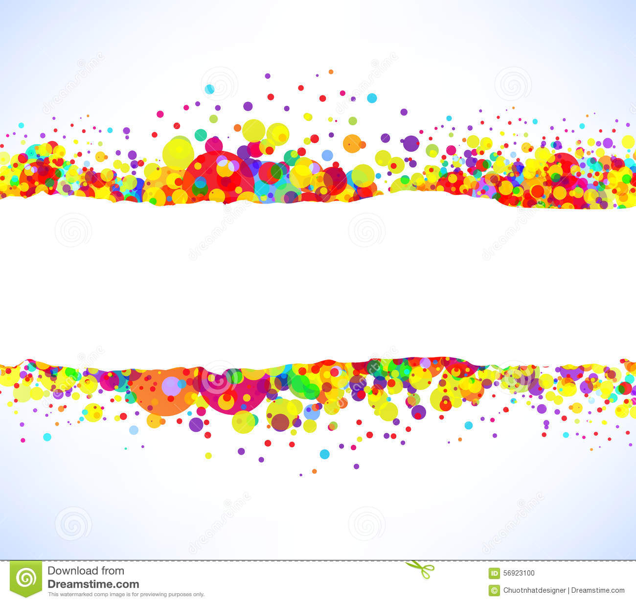 abstract vector colorful banner