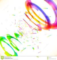 Abstract Vector Rainbow Colors Tornado Stock Vector