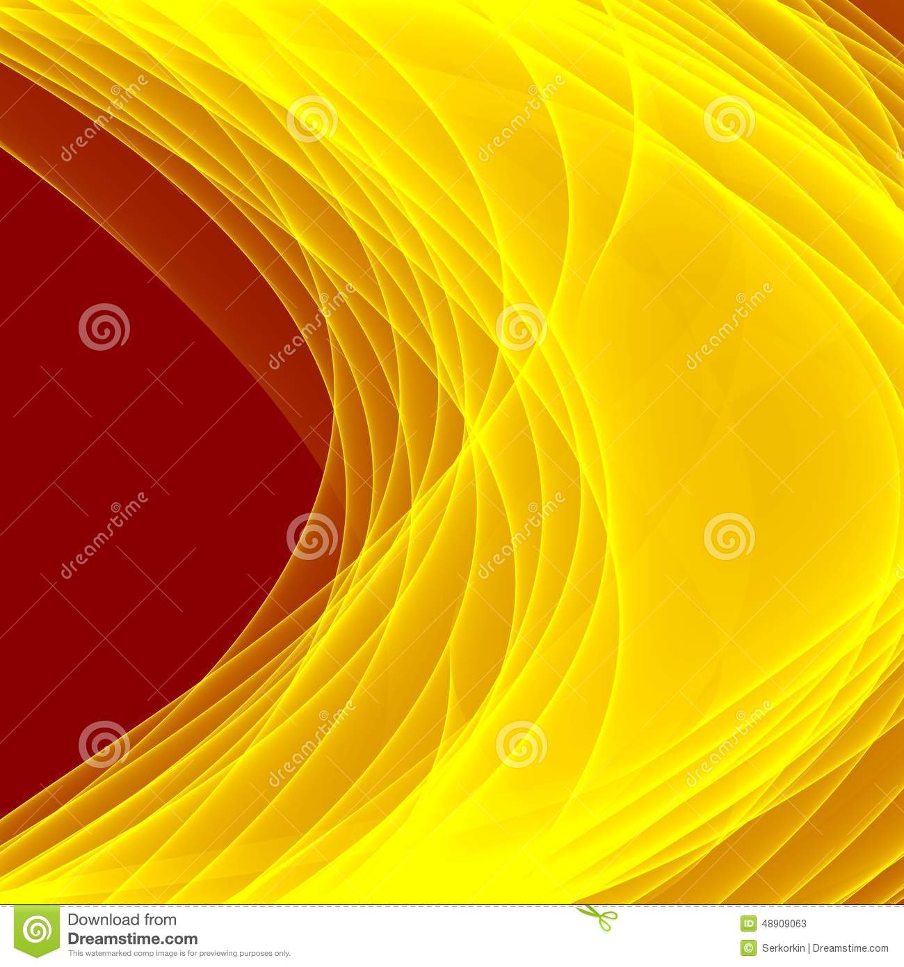 Abstract Yellow Background Bright Yellow Lines Geometric