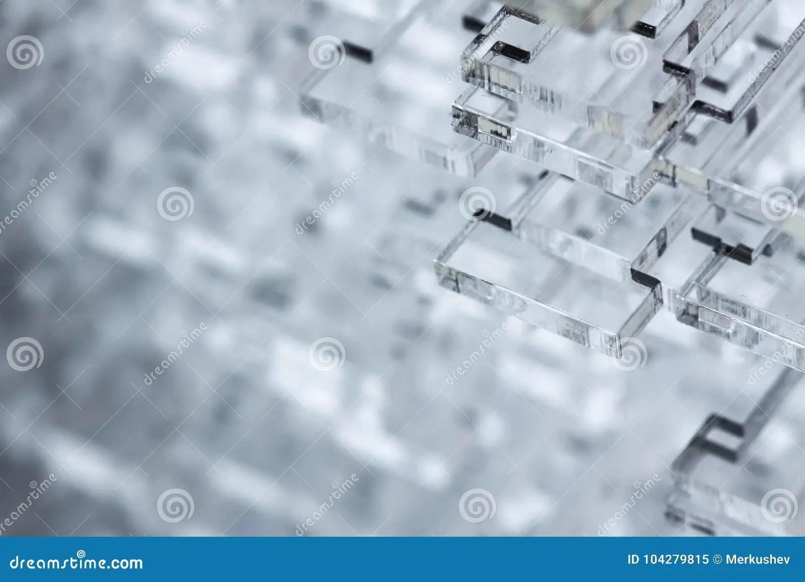 Abstracte Hightech Achtergrond Details Van Transparant