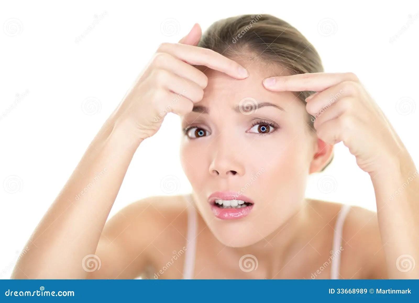 diagram for pimples on face 2006 subaru impreza wrx wiring acne spot pimple skin care girl problem royalty