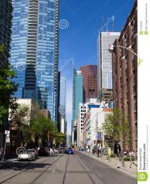 Adelaide Street West Editorial Stock Of
